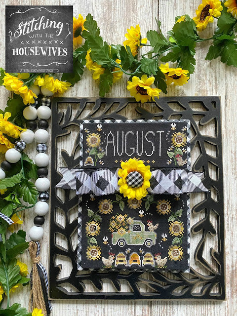 Truckin' Along - August by Stitching with the Housewives
