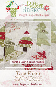Tree Farm Quilt Pattern by The Pattern Basket