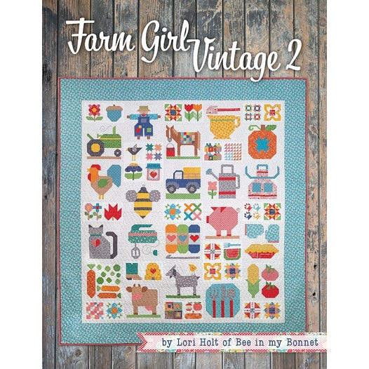 Farm Girl Vintage 2 Book by Lori Holt