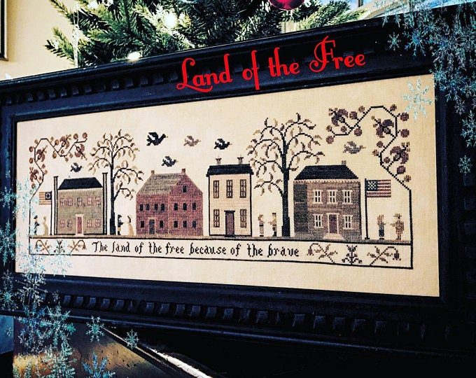Land of the Free by Willow Hill Samplings