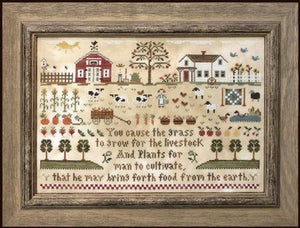 Farm Life by Little House Needleworks