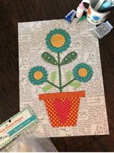 Load image into Gallery viewer, RESERVATION - Flea Market Flowers Sew Along Quilt Kit by Lori Holt