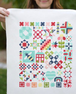 Shine On Sampler Cross Stitch by Bonnie & Camille - Stitch Along RESERVATION