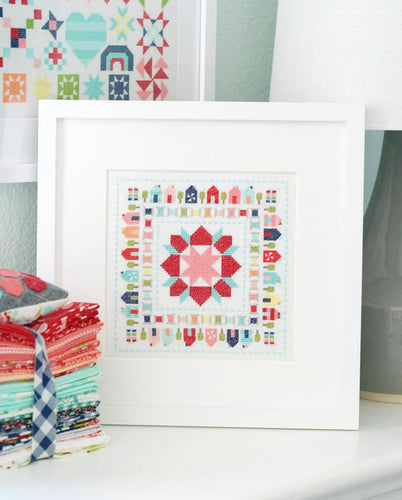 Stitchville Cross Stitch Pattern by Camille Roskelley