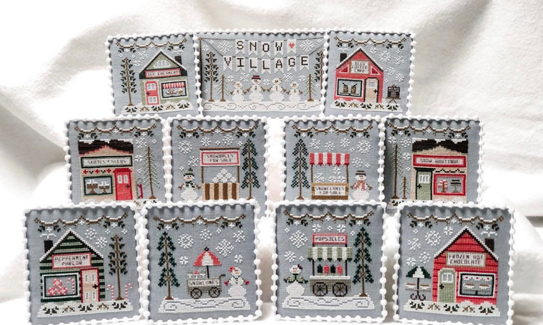 Snow Village by Country Cottage Needleworks - Stitch Along RESERVATION
