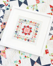 Load image into Gallery viewer, Stitchville Cross Stitch Pattern by Camille Roskelley