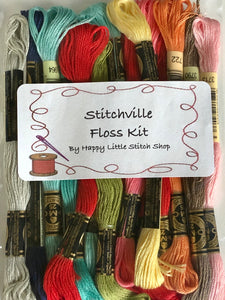 Floss Kit - Stitchville by Thimble Blossoms