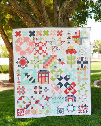 RESERVATION - Shine On Sampler Block of the Month Club by Bonnie & Camille