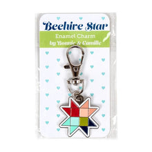 Load image into Gallery viewer, Beehive Star Enamel Charm by Bonnie & Camille