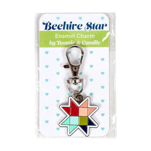 Beehive Star Enamel Charm by Bonnie & Camille
