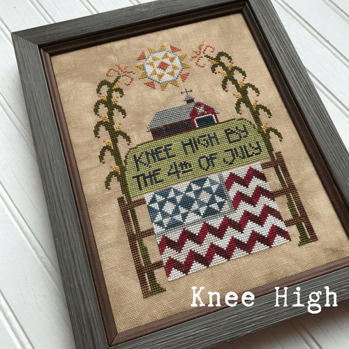 Knee High Cross Stitch Pattern