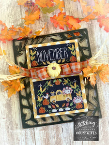 Truckin' Along - November by Stitching With the Housewives