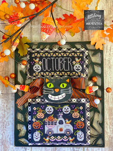 Truckin' Along - October by Stitching With the Housewives