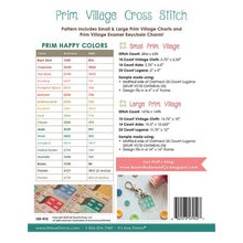 Load image into Gallery viewer, Prim Cross Stitch Pattern by Lori Holt