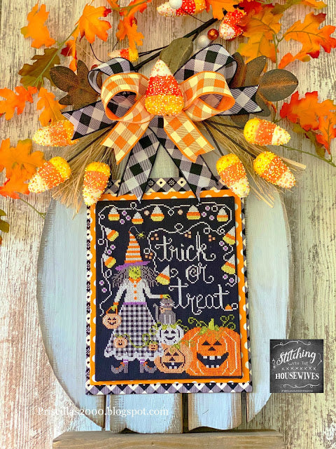 Trick or Treat by Stitching With the Housewives