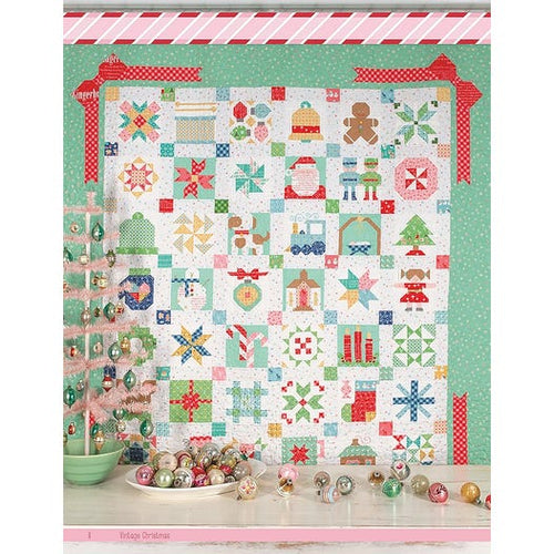 RESERVATION - Vintage Christmas Quilt Kit by Lori Holt