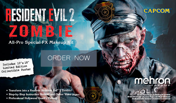 Resident Evil Zombie Special FX makeup kit