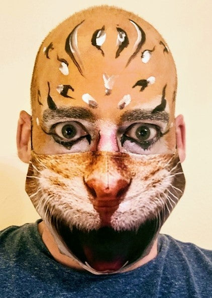 Cat makeup Halloween