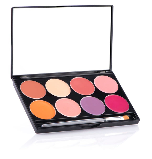CHEEK Cream - 8 Color Palette - Mehron Canada
