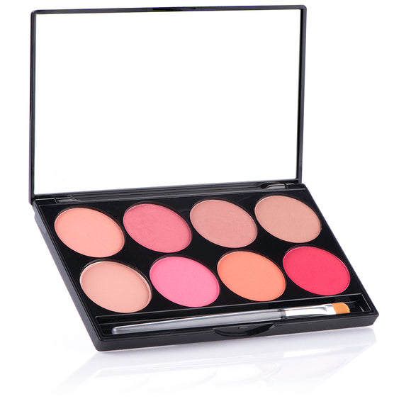CHEEK Powder 8 Color Palette - Mehron Canada