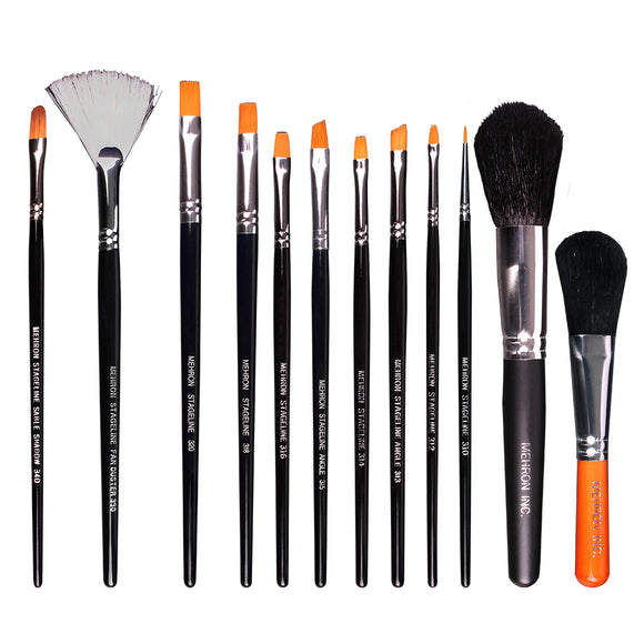 Stageline Makeup Brushes - Mehron Canada