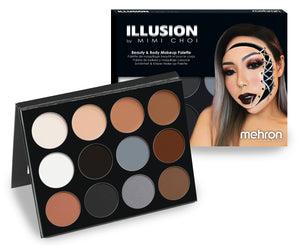 Illusion by Mimi Choi 12 Shade Makeup Palette - Mehron Canada
