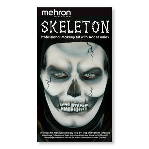 Skeleton - Character Makeup Kit - Mehron Canada