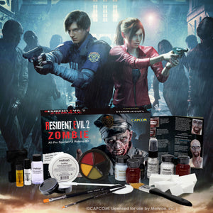 RESIDENT EVIL™2 ZOMBIE ALL-PRO MAKEUP KIT - Mehron Canada