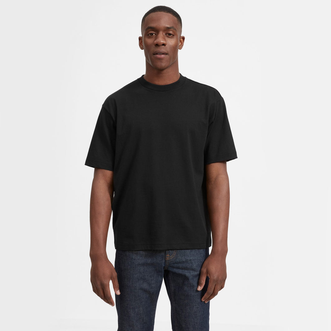 richard oversized  black tee
