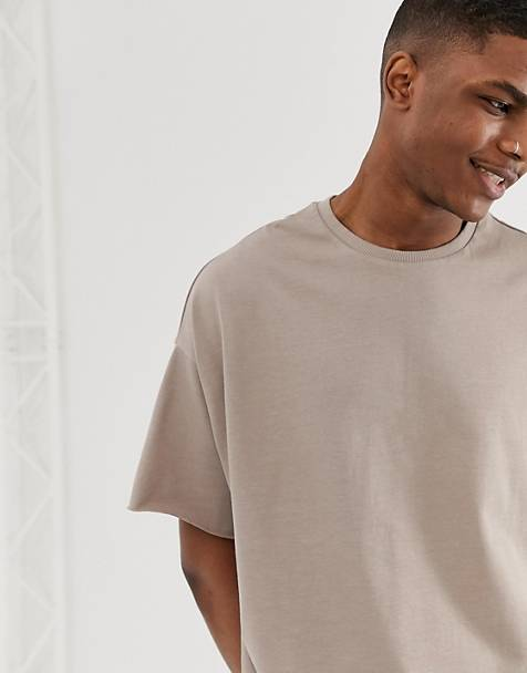 richard oversized grey tee