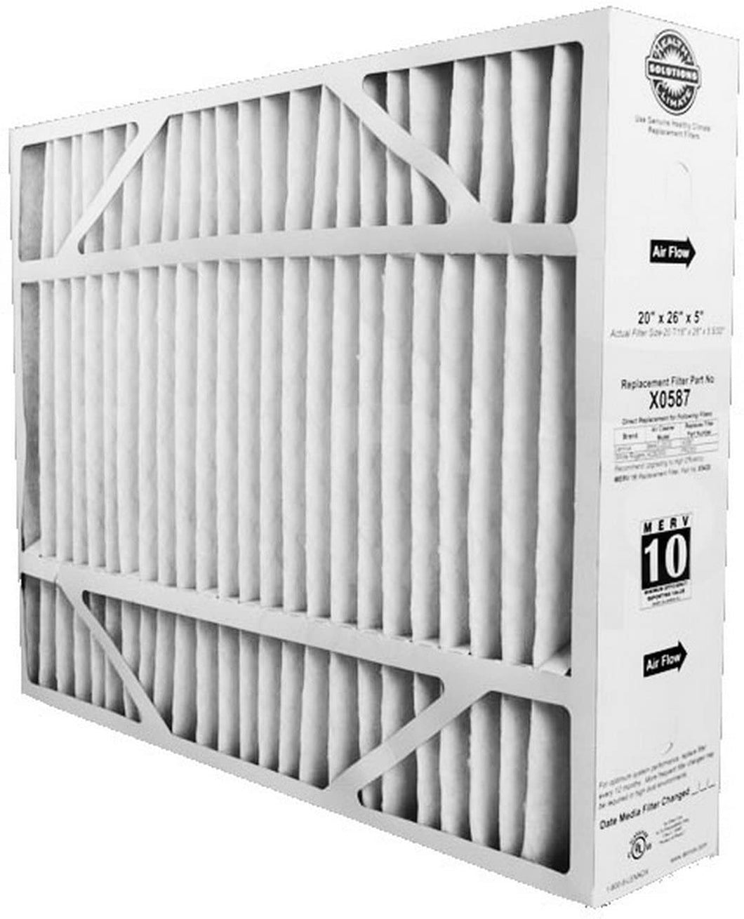 Lennox Genuine OEM Replacement Media Filter X0587 - Merv 11