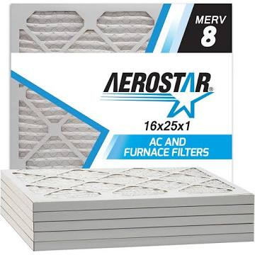 (6 Pack) Aerostar Series 400 Merv 8 Filter
