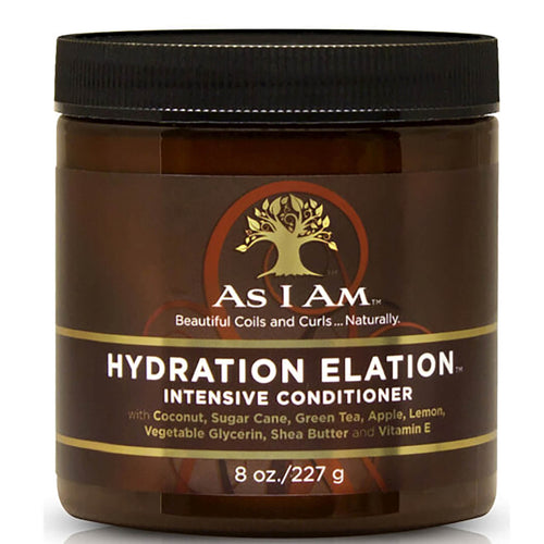 Hydration Elation Acondicionador intensivo 227gr. AS I AM