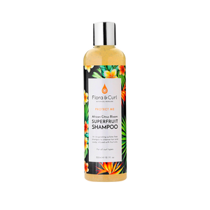 Champú African Citrus Superfruit 300ml. FLORA&CURL