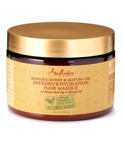 Mascarilla Manuka Honey And Mafura Oil Intensive Hydration Hair Masque 354ml. SHEA MOISTURE