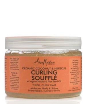 Gel Coconut And Hibiscus Curling Gel Souffle 340gr. SHEA MOISTURE