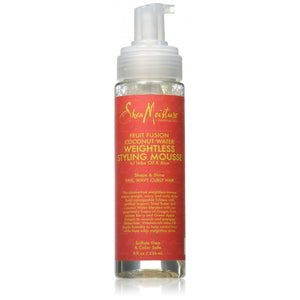 Espuma fruit fusion water weightless styling mousse 220ml. SHEA MOISTURE