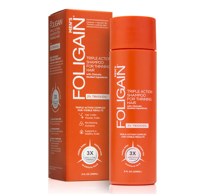 FOLIGAIN XAMPU 2% de Trioxidil 236ml