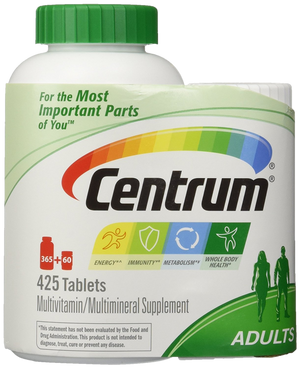 MULTIVITAMÍNICO ADULTO CENTRUM 425 TABLETES