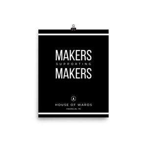 Makers Supporting Makers Poster