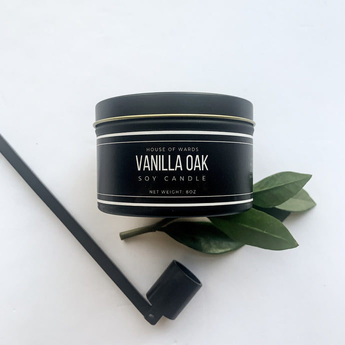 Vanilla Oak - 8oz Tin