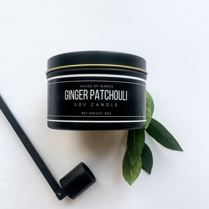 Ginger Patchouli - 8oz Tin