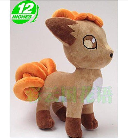 Pokemon Vulpix Fox Plush Doll 12inches