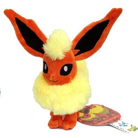 Flareon Pokemon Fire Pokedoll Character Booster Stuffed Animal Plush Toy