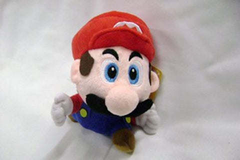 Mario Bro: 8-inch Super Cute Jumping Small Mario Plush