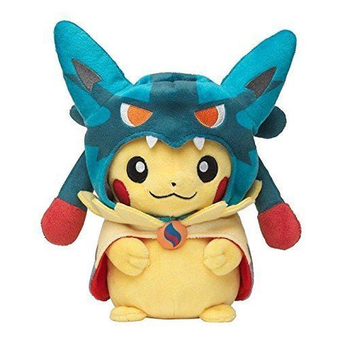 Pokemon Center Original Pikachu Mega Lucario Costume 9 Inch Stuffed Plush Doll