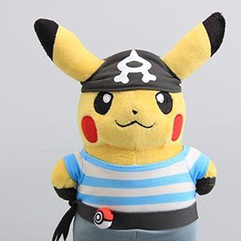 Pokémon Pikachu Rockets ship Galaxy volcanic rocks 8 inches Plush