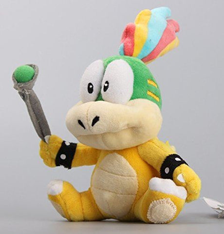 Super Mario Bros Plush 7 Inch / 20cm Lemmy O. Koopa Doll Stuffed