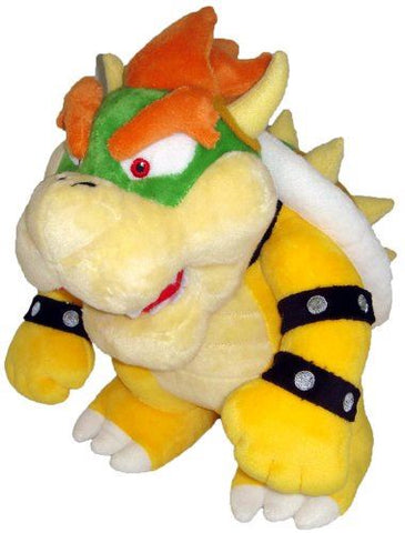 "Super Mario Plush - 10"" Bowser Soft Stuffed Plush Toy"