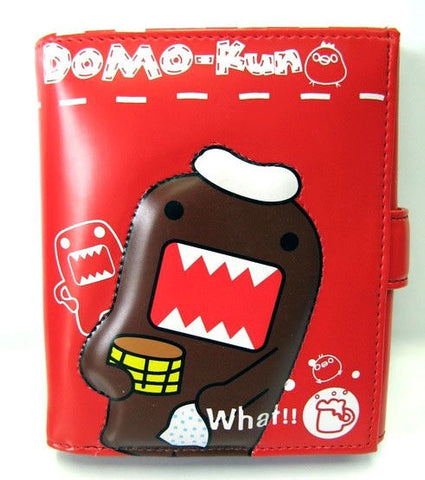 NHK: Domo-Kun Bath Time Red Wallet